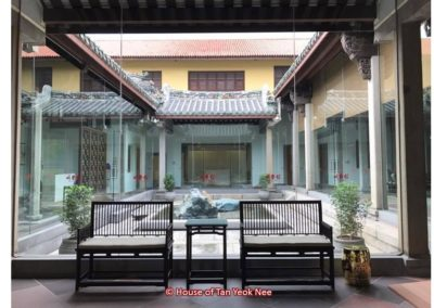 Supply of loose furniture to House of Tan Yeok Nee: First Courtyard waiting area