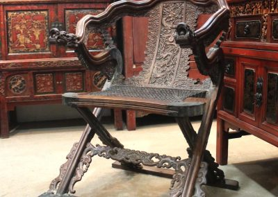 chinese hunting chair