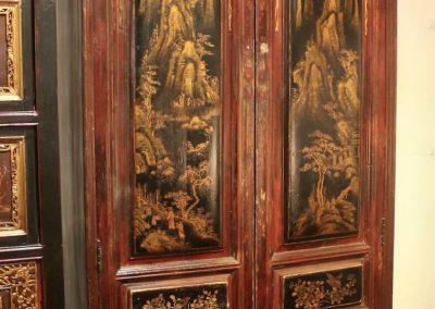 antique furniture - cabinet