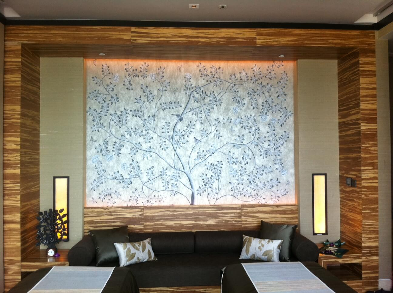 A project with Banyan Tree for their Spa at MBS