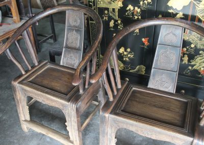 chinese furniture armchair