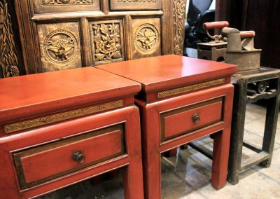 red stools with drawer singapore