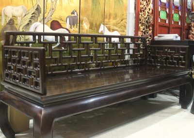 long bench at chinese furniture store