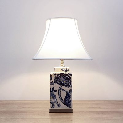 ceramic square table lamp