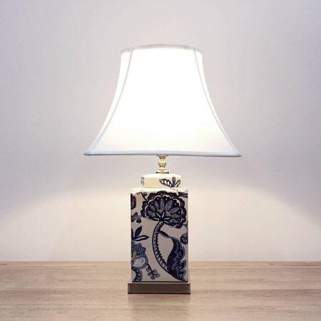 ceramic square table lamp