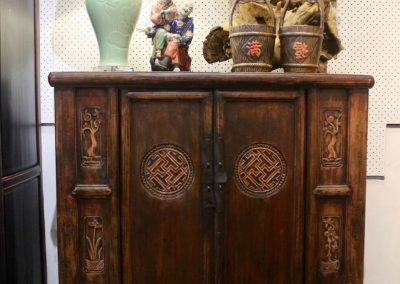 Carved cabinet from Shandong