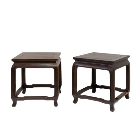Chinese furniture Ming-style side tables