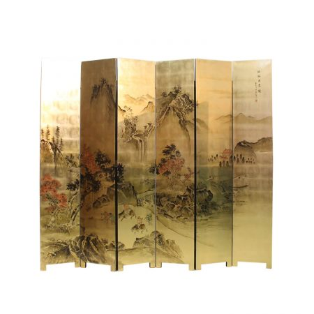 Chinese furniture foldable room dividers
