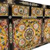 Chinese furniture Tibetan furniture close up of sideboard