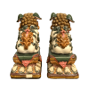 Chinese Chinese home decor Colour ceramic lions decor