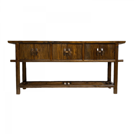 Chinese furniture weathered Elm wood table