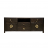 Chinese furniture dark brown TV console