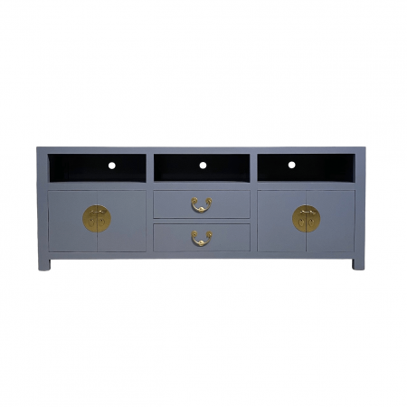 chinese furniture storm grey media tv console