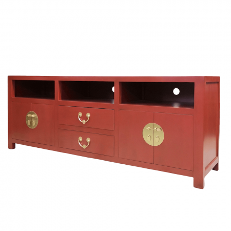 Chinese furniture red TV console