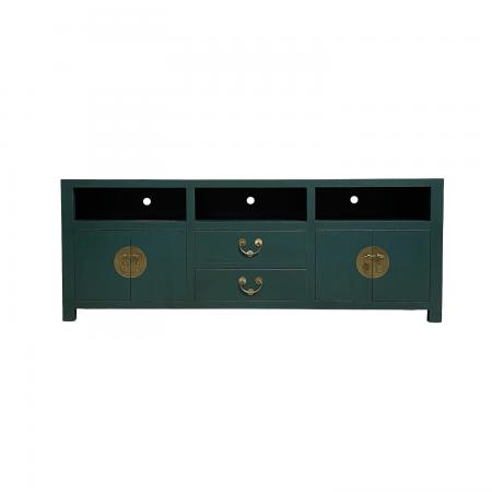 chinese furniture sea green tv sideboard