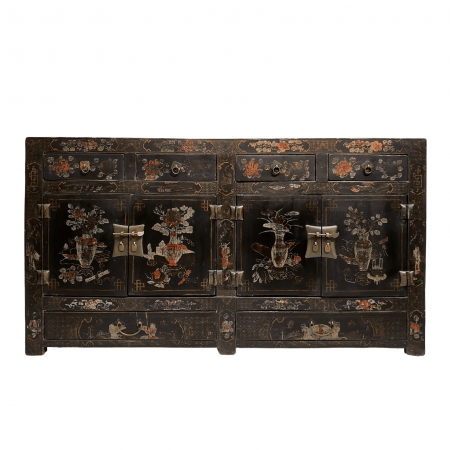 Chinese furniture antique Shanxi painted sideboard