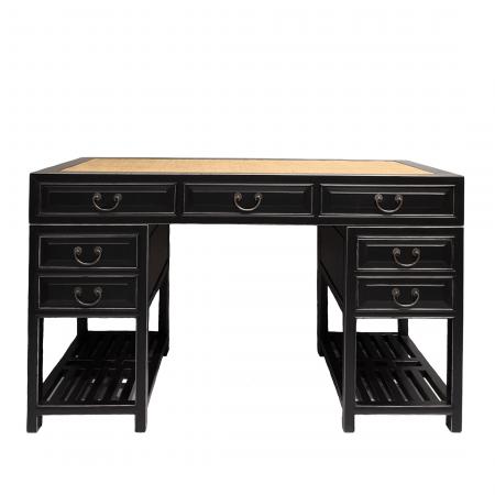 Chinese furniture black writing desk