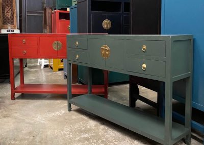 Chinese furniture slim console