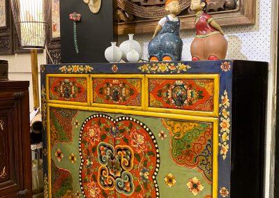 Chinese furniture Tibetan-style small sideboard