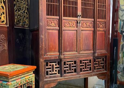 Chinese antique furniture kitchen cabinet