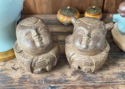 Chinese decoration carved stone children