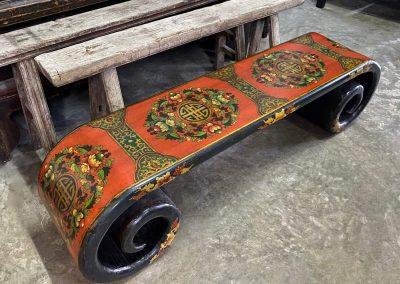 Tibetan-style furniture scroll table