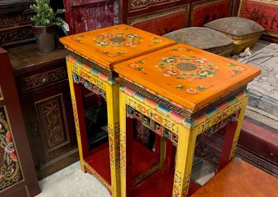 Tibetan-style furniture side tables