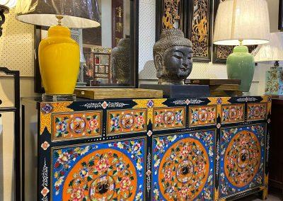 Chinese furniture Tibetan furniture long sideboard
