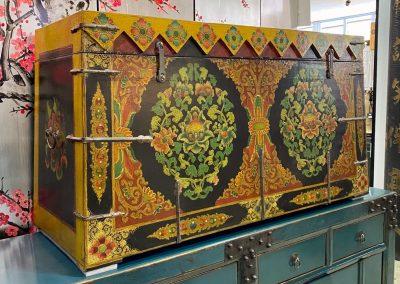 Tibetan-style furniture chest