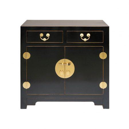 Chinese furniture black cabinet