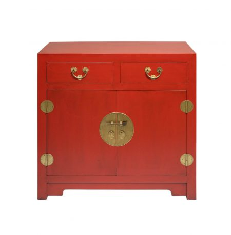 Chinese furniture red cabinet