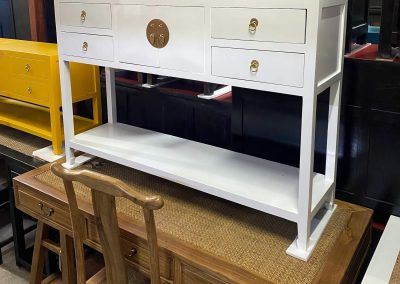 Chinese furniture white console