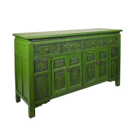 Chinese antique furniture carved sideboard