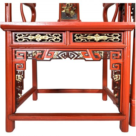 Chinese furniture armchair set