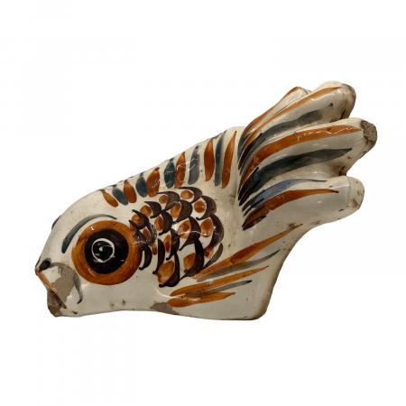 Ceramic fish gutter spout