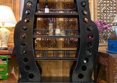 Chinese furniture large wine rack