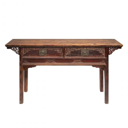 Chinese antique furniture carved table