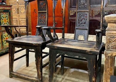 Chinese antique furniture armchairs