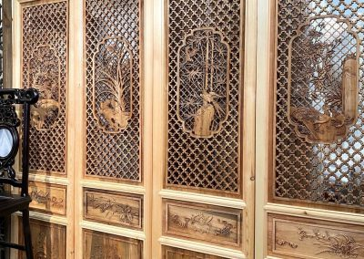 Chinese furniture carved screens