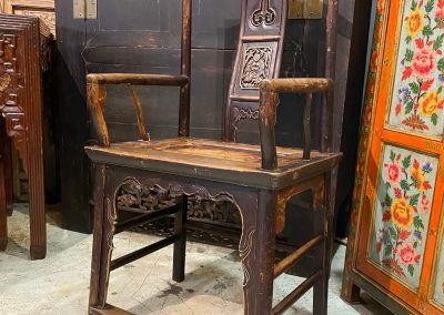 Chinese antique furniture armchair