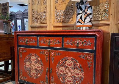 Chinese hand-painted furniture