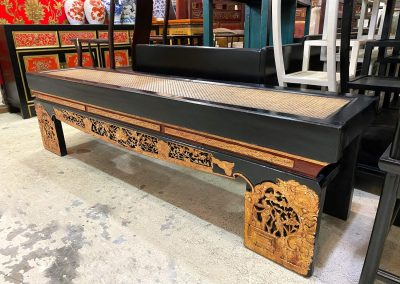 Chinese antique furniture carving