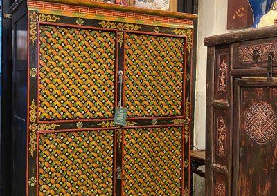 Tibetan-style cabinet