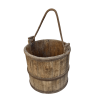 Antique Chinese wooden bucket