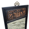 Chinese carved mirror frame