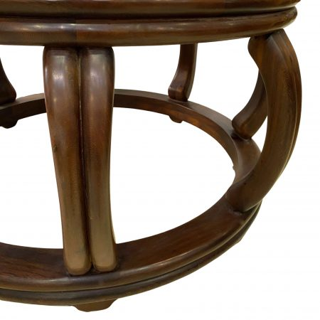 Ming-style round coffee table