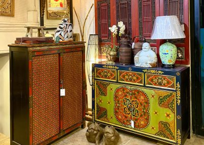 Tibetan-style cabinets