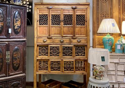 Antique kitchen cabinet from Zhejiang