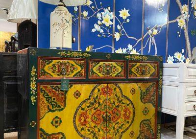 Tibetan style cabinet