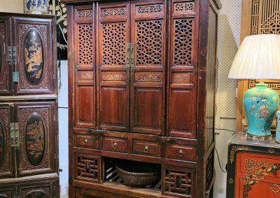Antique chinese furniture kitchen cabinet